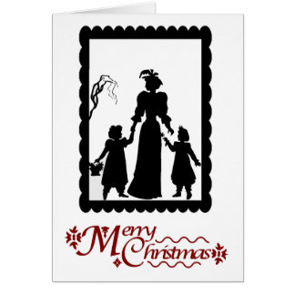 Merry Christmas, Family time Greeting Card