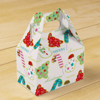 Merry Christmas Favor Box
