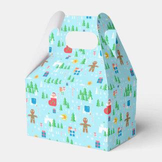 Merry Christmas favour box. Favor Box