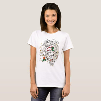 Merry Christmas festive holiday T-shirt