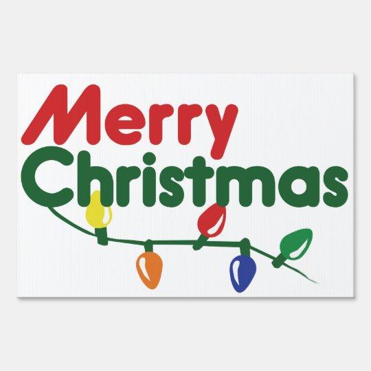 Merry Christmas Festive Lights