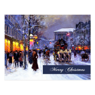 Merry Christmas. Fine Art Postcard