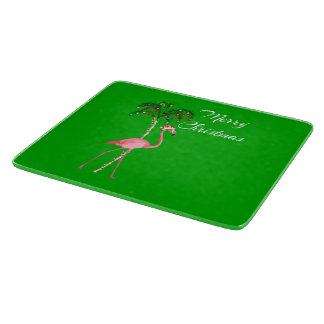 Merry Christmas Flamingo Boards