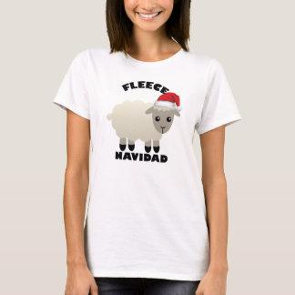 Merry Christmas Fleece Feliz Navidad Sheep t-shirt