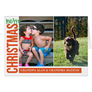 Merry Christmas for you x2 Greeting Card