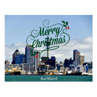 Merry Christmas from Auckland Postcard
