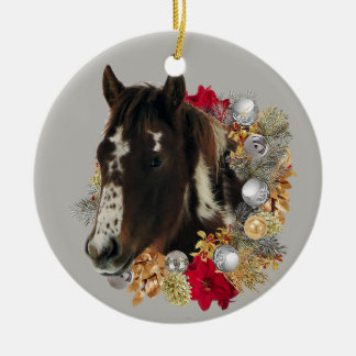 Merry Christmas From Brayley Ceramic Ornament