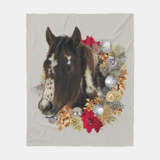 Merry Christmas From Brayley Fleece Blanket