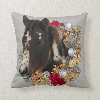 Merry Christmas From Brayley Throw Pillow