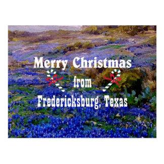 Merry Christmas from Fredericksburg, Texas Postcard