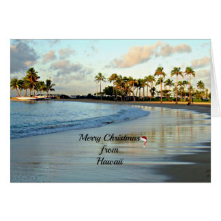 Merry Christmas from Hawaii Card