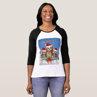 MERRY CHRISTMAS FROM OWL OF US T-Shirt