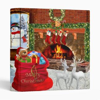 Merry Christmas from Santa 3 Ring Binder