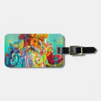 Merry Christmas from Santa Luggage Tag