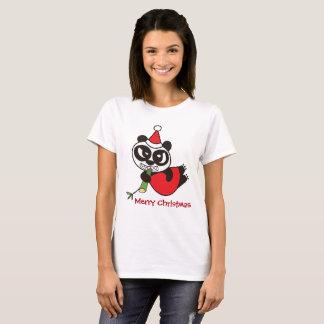 Merry Christmas from Santa Panda T-Shirt