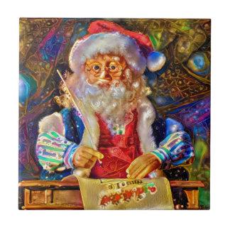 Merry Christmas from Santa Tile