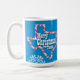 Merry Christmas from Texas Coffee Mug