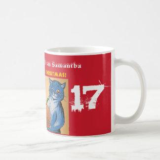 Merry Christmas from the Cats #holidayz Coffee Mug