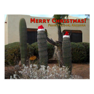 Merry Christmas from Tucson Postcard