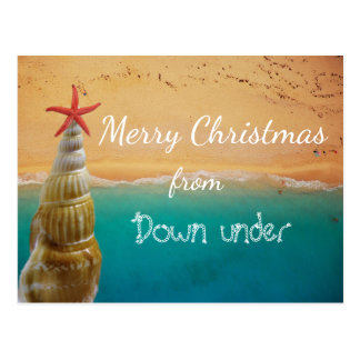Merry Christmas from [Warm Destination] Postcard