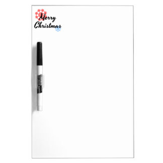 Merry Christmas funny Dry Erase Board