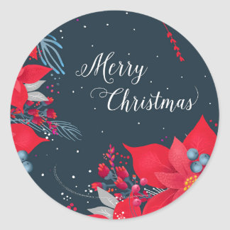Merry Christmas Gift Stickers
