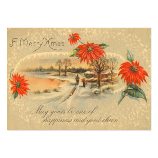 Merry Christmas Gift Tags Business Cards