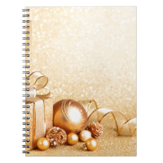 MERRY CHRISTMAS GIFTS NOTEBOOK