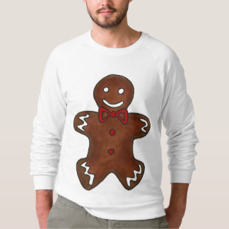 Merry Christmas Gingerbread Man Ugly Sweater