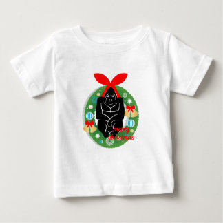 merry christmas gorilla baby T-Shirt