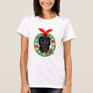 merry christmas gorilla T-Shirt