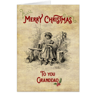 Merry Christmas Granddad Card
