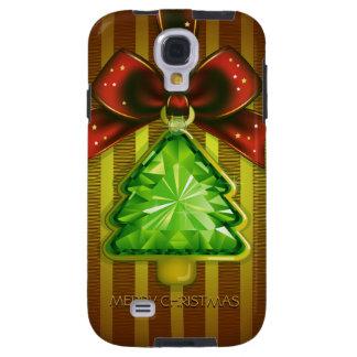 Merry Christmas Green Diamond Tree Samsung S4