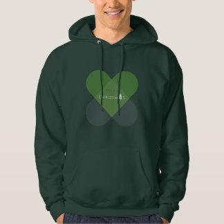 Merry Christmas - Green Hoodie