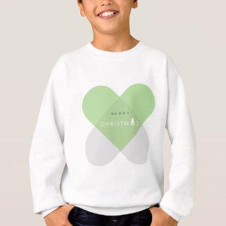 Merry Christmas - Green Sweatshirt
