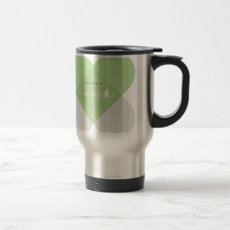 Merry Christmas - Green Travel Mug