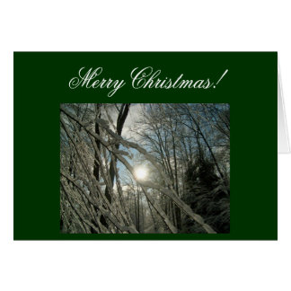 Merry Christmas! Greeting Card-Create Your Own! Card