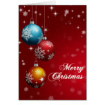 Merry Christmas Greeting Card - Customizable