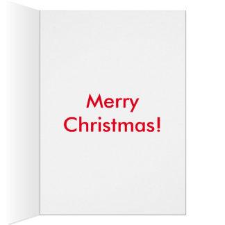 Merry Christmas (Greeting Card) Greeting Card