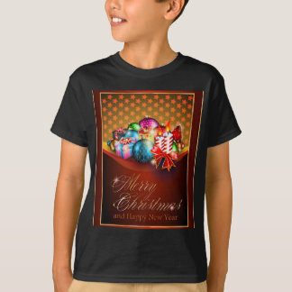 Merry Christmas Greeting Card T-Shirt