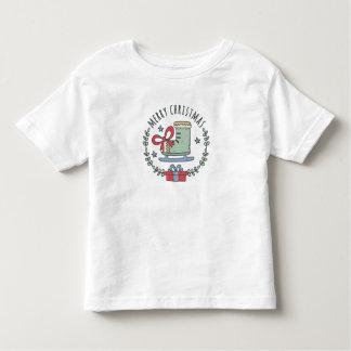 Merry Christmas Greeting Garland Toddler's T-Shirt