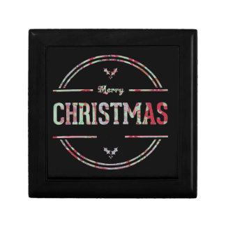 Merry Christmas Greeting Gift Box