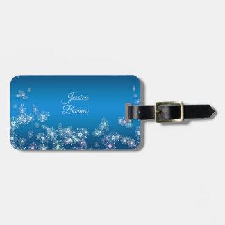 Merry Christmas. Greeting.Name. Luggage Tag
