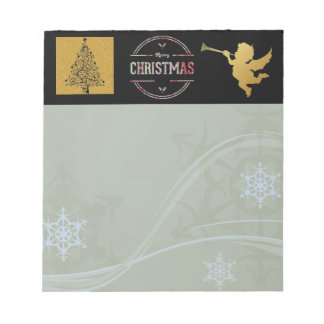 Merry Christmas Greeting Notepad