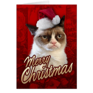 Merry Christmas Grumpy Cat Card
