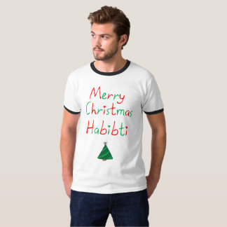 Merry Christmas Habibti T-Shirt