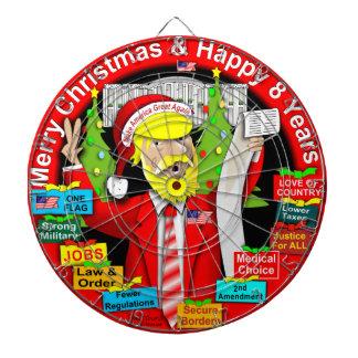 Merry Christmas & Happy 8 Years Dartboard