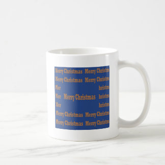 Merry Christmas  Happy Holidays Text Template GIFT Mugs