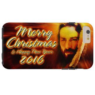 Merry Christmas Happy New Year 2016 Jesus Tough iPhone 6 Plus Case