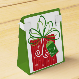Merry Christmas Happy New Year Beautiful Gift Box Wedding Favor Boxes